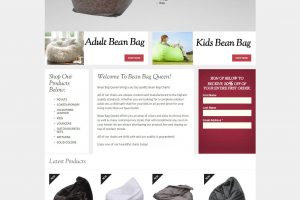 Bean Bag Queen Homepage