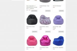 Bean Bag Queen Shop