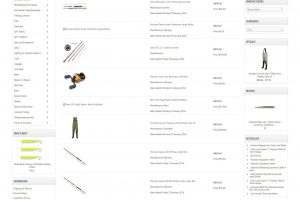 Henrys Tackle Shop New Products