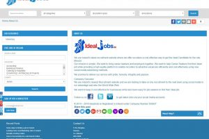 Idealjobs About