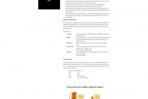 Pacific Beer Equipment Product